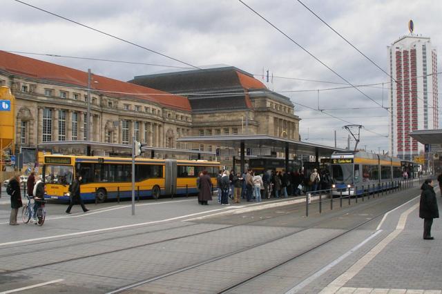 Lipsk - Hauptbahnhof
