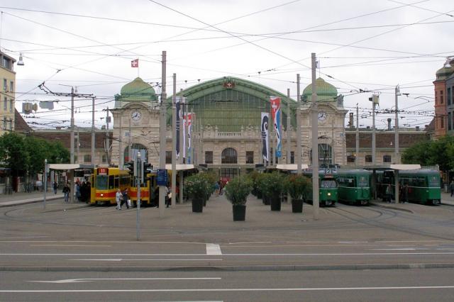 Bazylea - dworzec SBB