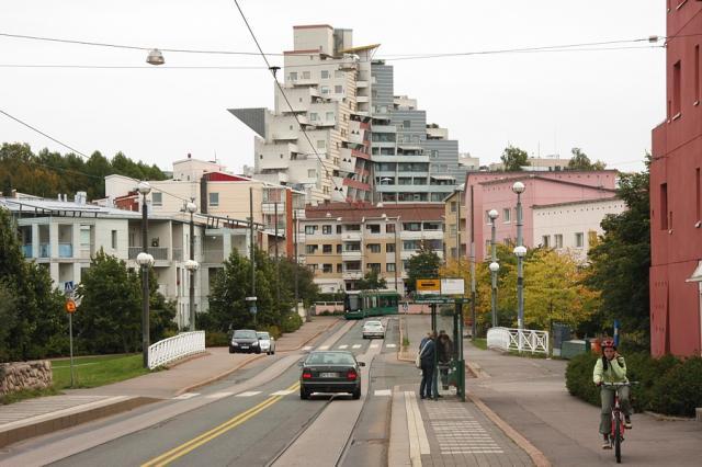 Helsinki - osiedle
