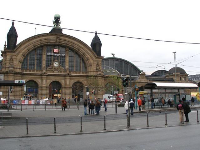 Frankfurt - dworzec