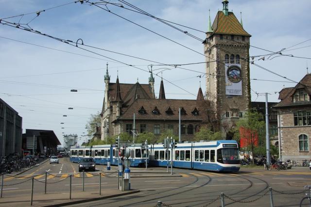 Zurych - Museumstrasse