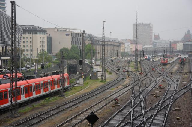 Monachium - wjazd do tunelu