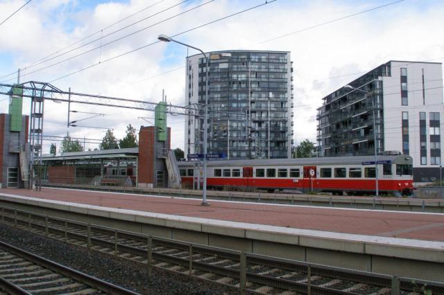 Kolej aglomeracyjna Helsinek - Tikkurila