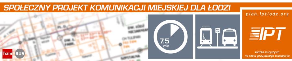 Społeczny Projekt Komunikacji Miejskiej Dla Łodzi